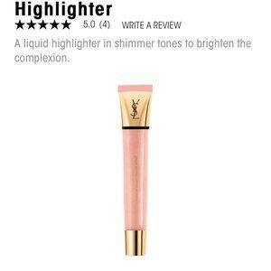 NEW! YSL Touche Éclat Glow Shot Highlighter